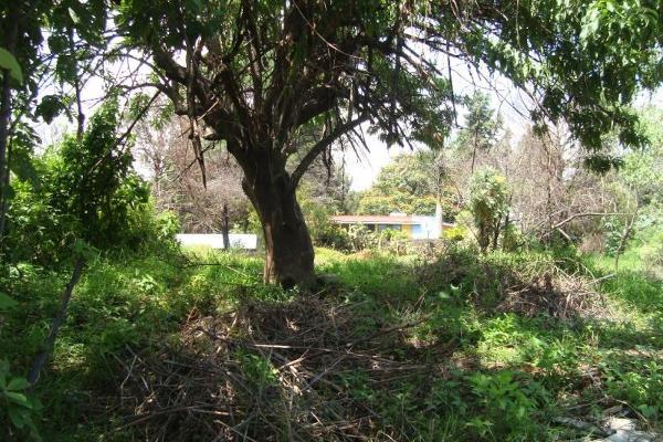 Foto de terreno habitacional en venta en camino alarcon 10, ahuatepec, cuernavaca, morelos, 5895243 No. 17