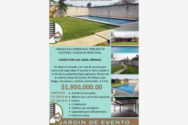 Foto de terreno habitacional en venta en camino antiguo a ahuatepec o, ocotera, cuernavaca, morelos, 0 No. 13