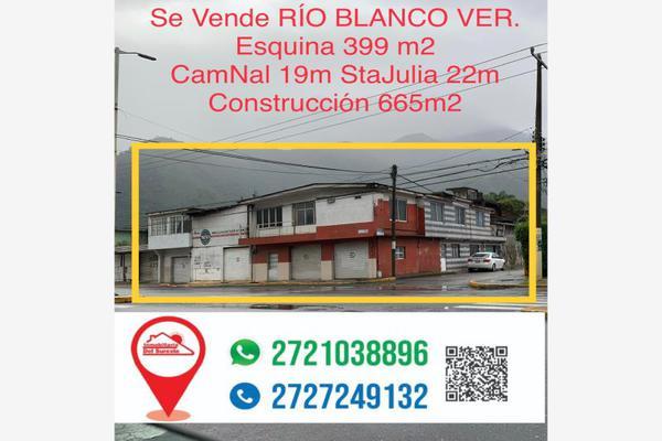 Foto de casa en venta en camino nacional esquina satajulia , unión obrera campesina, río blanco, veracruz de ignacio de la llave, 0 No. 01
