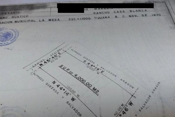 Foto de terreno comercial en venta en camino nuevo león , viñedos casa blanca, tijuana, baja california, 11443872 No. 03