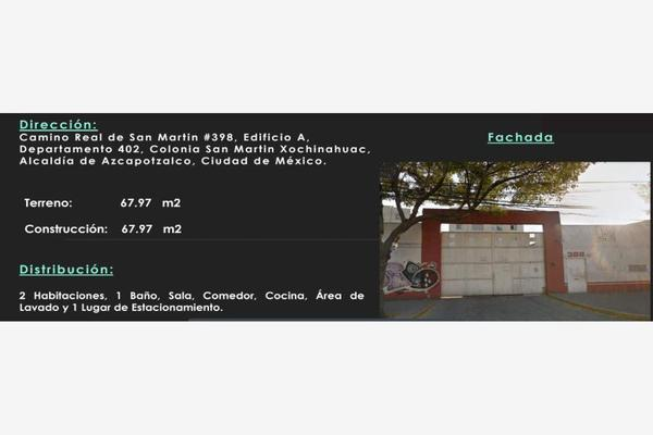 Foto de departamento en venta en camino real de san martin 398, san martín xochinahuac, azcapotzalco, df / cdmx, 7146118 No. 01