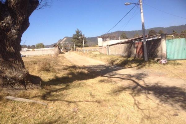 Foto de terreno habitacional en venta en camino real , san francisco zentlalpan, amecameca, méxico, 0 No. 01