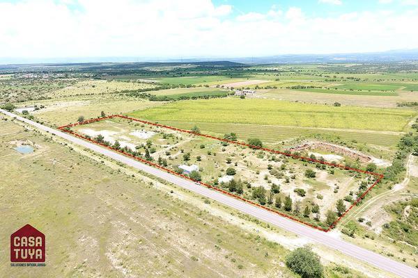 Foto de terreno habitacional en venta en camino san josé de la ordeña a cotón , san josé de la ordeña, aguascalientes, aguascalientes, 5688472 No. 01
