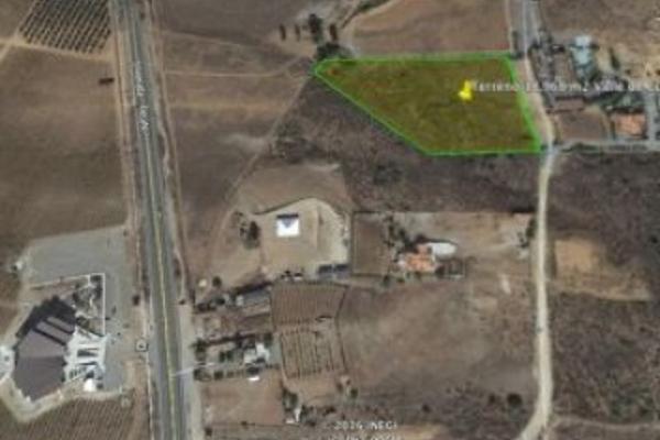 Foto de terreno habitacional en venta en camino vecinal , el porvenir, ensenada, baja california, 3460194 No. 01
