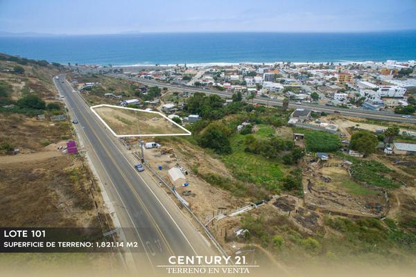Foto de terreno habitacional en venta en camino vecinal lote 101 manzana 347 , playas de tijuana, tijuana, baja california, 12813510 No. 01