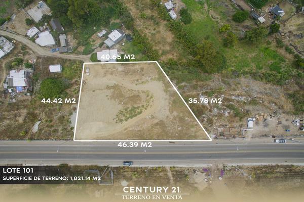 Foto de terreno habitacional en venta en camino vecinal lote 101 manzana 347 , playas de tijuana, tijuana, baja california, 12813510 No. 02