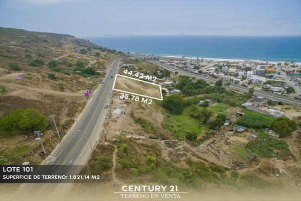 Foto de terreno habitacional en venta en camino vecinal lote 101 manzana 347 , playas de tijuana, tijuana, baja california, 12813510 No. 03