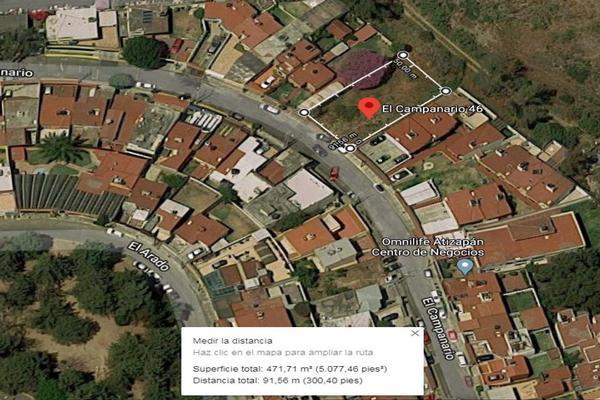 Foto de terreno habitacional en venta en campanario 46, villas de la hacienda, atizapán de zaragoza, méxico, 18659356 No. 03
