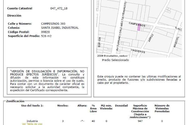Foto de bodega en venta en campesinos 393, santa isabel industrial, iztapalapa, df / cdmx, 0 No. 02