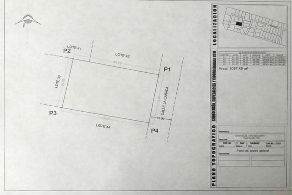 Foto de terreno habitacional en venta en campestre de las cañadas , real del bosque, guanajuato, guanajuato, 0 No. 04
