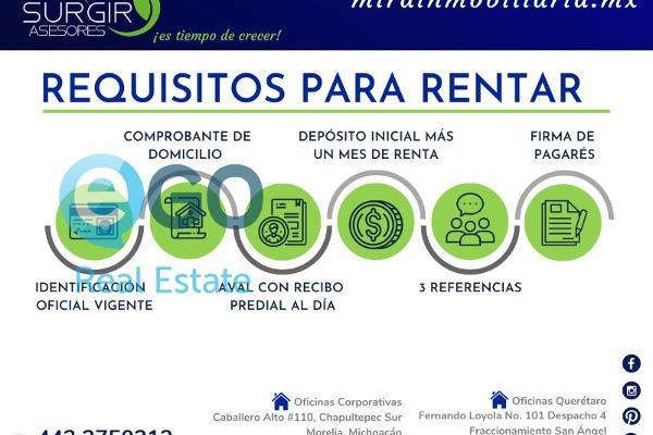 Foto de departamento en renta en  , campestre del vergel, morelia, michoacán de ocampo, 9149532 No. 12