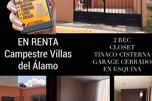 Foto de casa en renta en  , campestre villas del álamo, mineral de la reforma, hidalgo, 14032200 No. 01