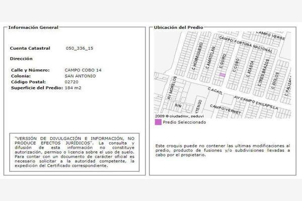 Foto de casa en venta en campo cobo 14, san antonio, azcapotzalco, df / cdmx, 0 No. 02
