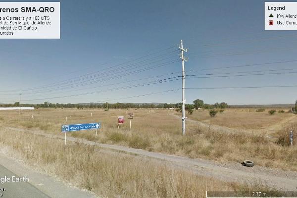 Foto de terreno habitacional en venta en  , cañajo, san miguel de allende, guanajuato, 5360906 No. 01