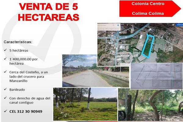 Foto de terreno habitacional en venta en canal , colima centro, colima, colima, 0 No. 04