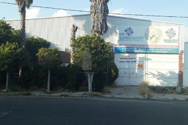 Foto de nave industrial en venta en cantereros , la loma, querétaro, querétaro, 5707608 No. 01