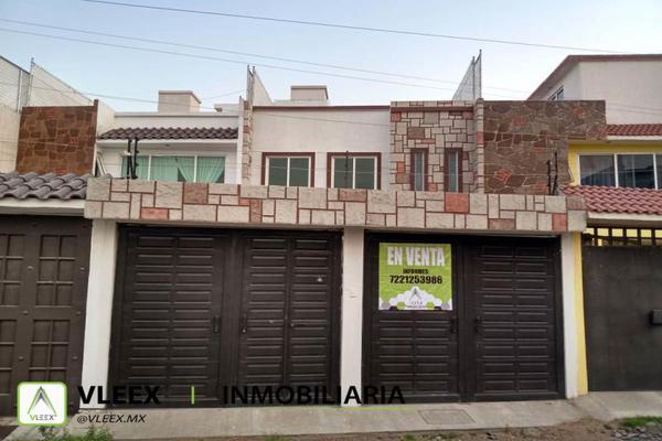 Foto de casa en venta en capulines 6, capultitlán centro, toluca, méxico, 0 No. 01