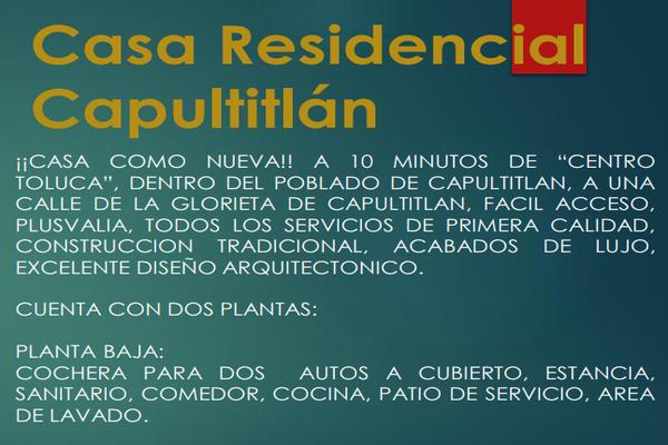 Foto de casa en venta en  , capultitlán centro, toluca, méxico, 0 No. 07