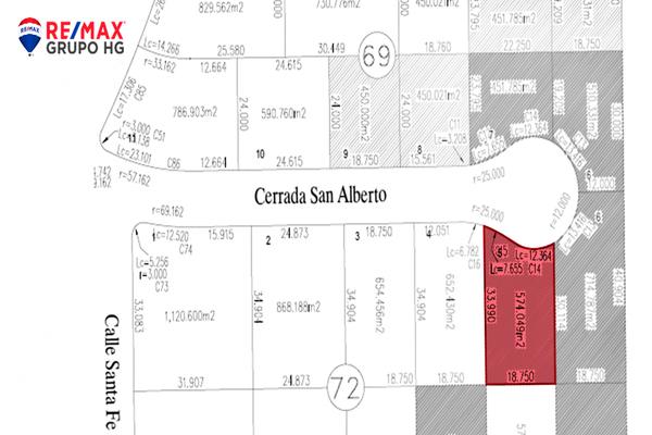 Foto de terreno habitacional en venta en carrada san alberto , san pedro residencial segunda sección, mexicali, baja california, 18723379 No. 03