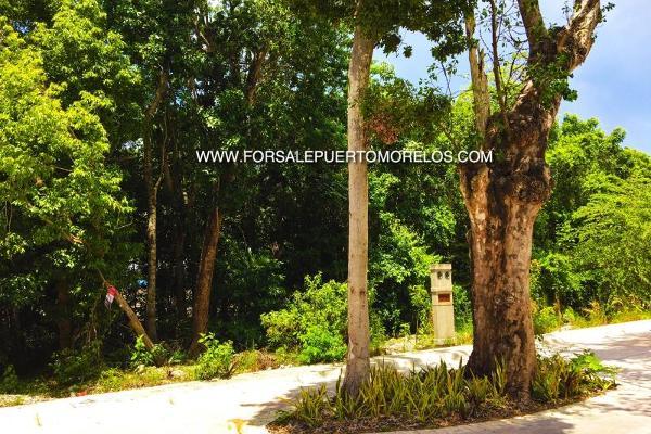 Foto de terreno habitacional en venta en carretera 23, puerto morelos, benito juárez, quintana roo, 5358478 No. 01