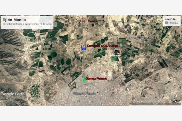 Foto de terreno comercial en venta en carretera a cd. juarez ejido manila , manila, gómez palacio, durango, 5440671 No. 01