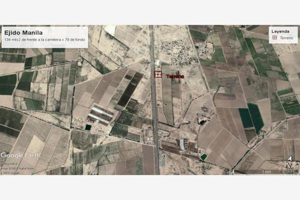 Foto de terreno comercial en venta en carretera a cd. juarez ejido manila , manila, gómez palacio, durango, 5440671 No. 02