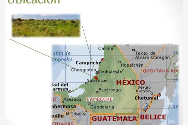 Foto de terreno habitacional en venta en carretera a champotón kilometro 117+441, ampliación san rafael, campeche, campeche, 8786537 No. 03