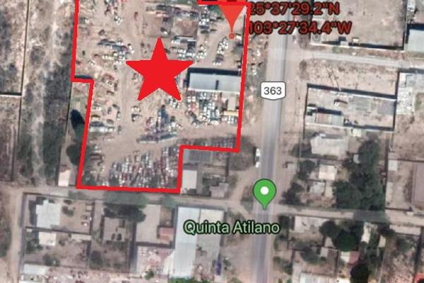 Foto de terreno comercial en venta en carretera a jabonoso , el cariño, gómez palacio, durango, 8900152 No. 08