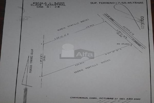 Foto de terreno comercial en venta en carretera a juárez kilometro 27.5 , los arroyos i, ii y iii, chihuahua, chihuahua, 5709797 No. 02