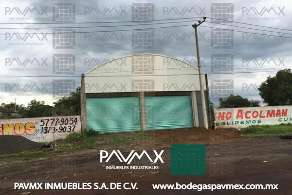 Foto de nave industrial en renta en carretera a tepexpan 8 8, ampliación santa catarina, acolman, méxico, 8877431 No. 02