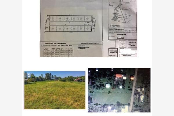 Foto de terreno habitacional en venta en carretera antigua , chichicapa, comalcalco, tabasco, 3419974 No. 01