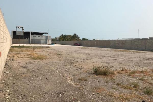 Foto de nave industrial en renta en carretera carmen- pto real , puerto real, carmen, campeche, 5668733 No. 09