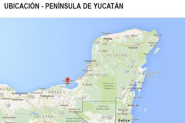 Foto de terreno habitacional en venta en carretera carmen puerto real , isla aguada, carmen, campeche, 6168850 No. 02
