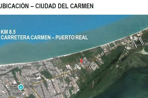 Foto de terreno habitacional en venta en carretera carmen puerto real , isla aguada, carmen, campeche, 6168850 No. 05