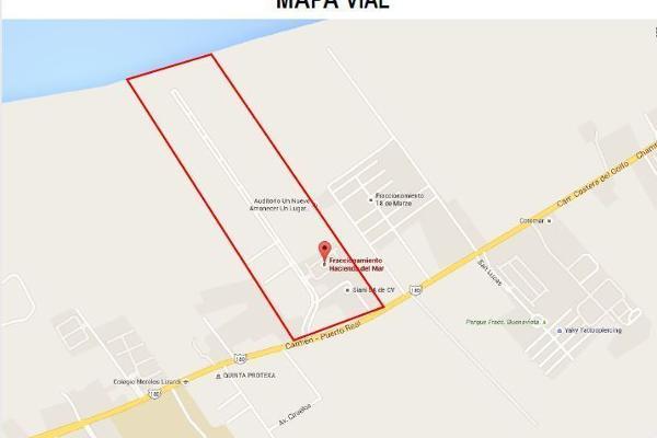 Foto de terreno habitacional en venta en carretera carmen puerto real , isla aguada, carmen, campeche, 6168850 No. 08