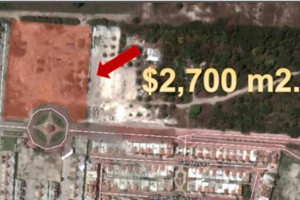 Foto de terreno habitacional en venta en carretera carmen puerto real kilometro 10.5 buenavista rinconada , misión del carmen, carmen, campeche, 5665272 No. 02