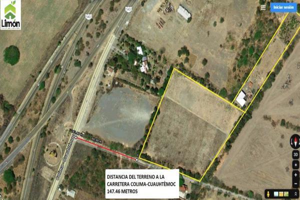 Foto de terreno habitacional en venta en carretera colima-cuauhtémoc , el diezmo, colima, colima, 0 No. 04