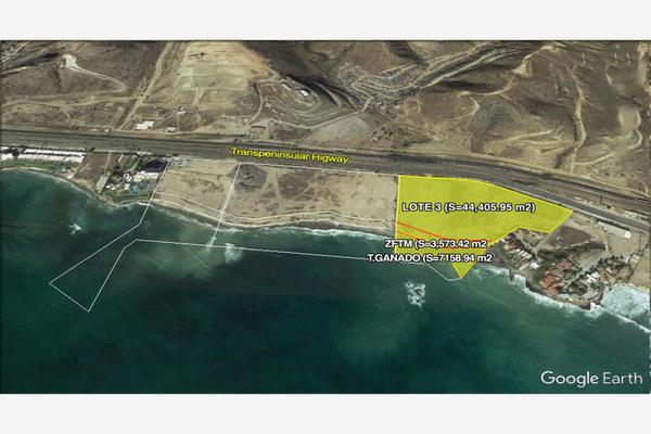 Foto de terreno habitacional en venta en carretera ensenada tijuana 1245, popotla, playas de rosarito, baja california, 9205365 No. 01