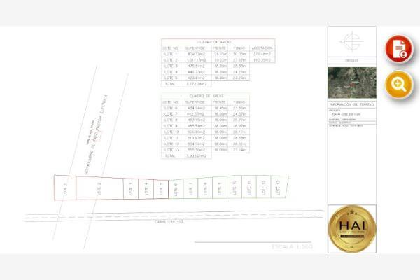 Foto de terreno industrial en venta en carretera estatal 413 santa bárbara - coroneo 1, santa bárbara 1a sección, corregidora, querétaro, 8898691 No. 02