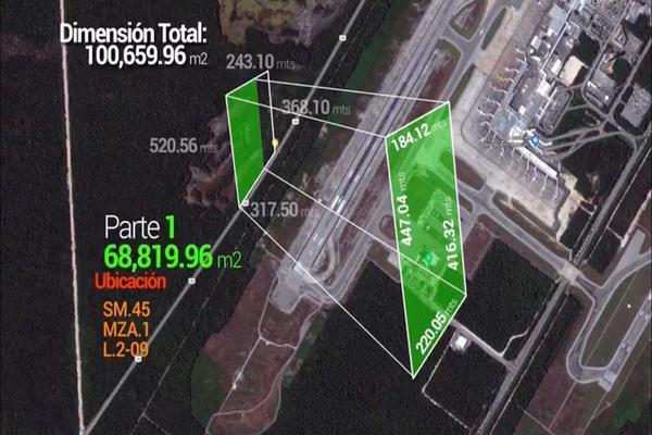 Foto de terreno habitacional en venta en carretera fed 180 , alfredo v bonfil, benito juárez, quintana roo, 8322068 No. 02
