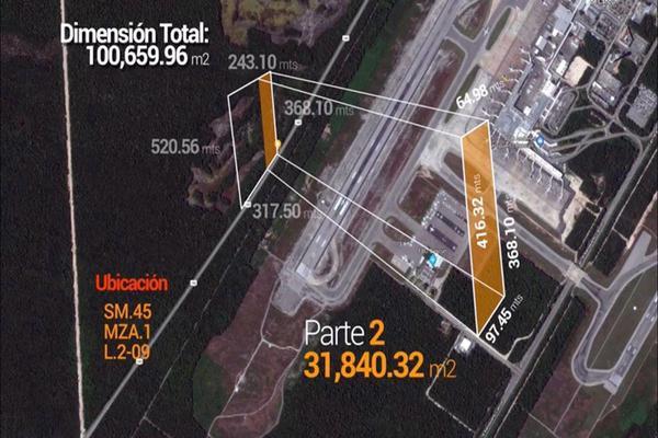 Foto de terreno habitacional en venta en carretera fed 180 , alfredo v bonfil, benito juárez, quintana roo, 8322068 No. 03