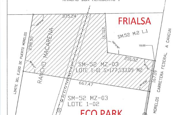 Foto de terreno comercial en venta en carretera federal , puerto morelos, benito juárez, quintana roo, 3451524 No. 03