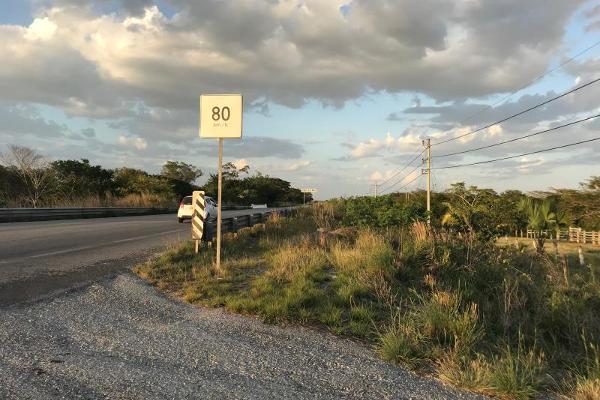 Foto de terreno habitacional en venta en carretera federal 186, entre mamantel y nuevo pital. a sólo 34 kilometro de escárcega. 186, cereso cd. del carmen, carmen, campeche, 7197015 No. 10