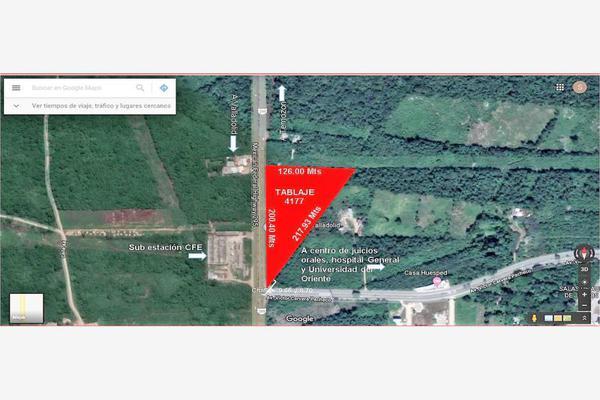 Foto de terreno comercial en venta en carretera federal 295 n/d, santa lucia, valladolid, yucatán, 8336809 No. 01