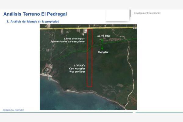 Foto de terreno comercial en venta en carretera federal cancun tulum 17, el pedregal, solidaridad, quintana roo, 2797631 No. 03