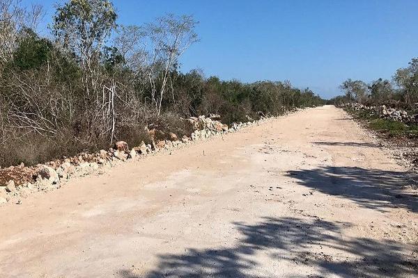 Foto de terreno habitacional en venta en carretera federal mérida - tizimín , muxupip, muxupip, yucatán, 5440385 No. 25