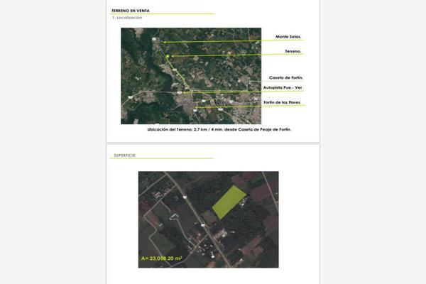 Foto de terreno industrial en venta en carretera fortín huatusco , las flores, fortín, veracruz de ignacio de la llave, 5418894 No. 03
