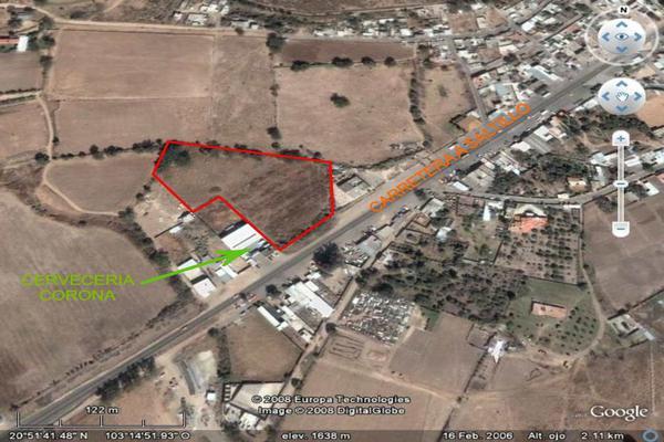 Foto de terreno comercial en venta en carretera guadalajara-saltillo , ixtlahuacan del rio, ixtlahuacán del río, jalisco, 12764316 No. 01