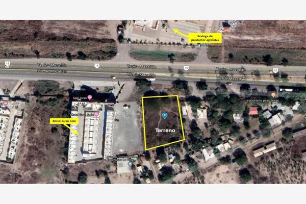 Foto de terreno habitacional en venta en carretera internacional , el castillo, mazatlán, sinaloa, 9924988 No. 01