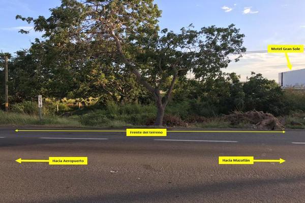 Foto de terreno habitacional en venta en carretera internacional , el castillo, mazatlán, sinaloa, 9924988 No. 03